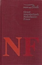 Van Dale groot woordenboek Nederlands-Frans…