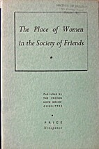 The place of women in the Society of Friends…
