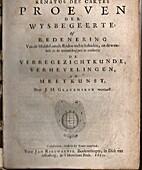 Proeven der Wysbegeerte: of redenering by…