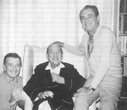 Author photo. Cole Lesley (l), with Noel Coward and Graham Payn. Uncredited photo found at <a href=&quot;http://www.noelcoward.net/friends/pages/page_4.html&quot; rel=&quot;nofollow&quot; target=&quot;_top&quot;>Noelcoward.net</a>