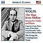 The man from Midian [CD] by Stefan Wolpe