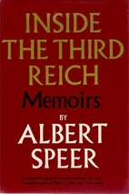 Inside the Third Reich: Memoirs by Albert…