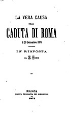 ˆLa ‰vera causa della caduta di Roma il 20…