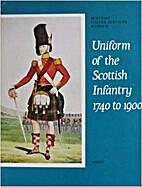 Uniform of the Scottish infantry, 1740 to…