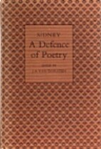 A Defence of Poetry by Sir Philip Sidney