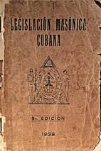 Legislación Masónica Cubana