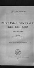 Problemas generales del derecho. Obra…