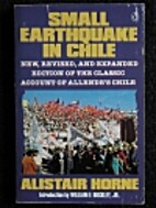 Small Earthquake in Chile by Alistair Horne