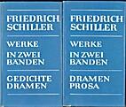 Schillers Werke in zwei Baenden by Friedrich…