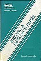 Writing a research paper by Lionel Menasche