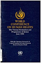 World conference on human rights 1993 by…