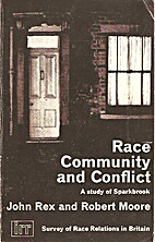Race, Community and Conflict: Study of…