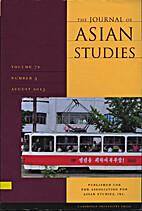 Journal of asian studies