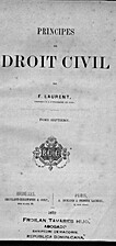 Principes de droit civil. Tome septiéme by…