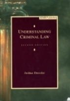 Understanding Criminal Law by Joshua…