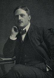 Author photo. Image from <b><i>Little pilgrimages among the men who have written famous books: second series</i></b> (1903) by Edward Francis Harkins