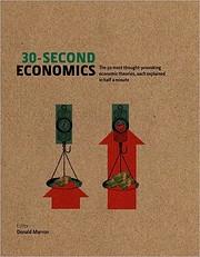 30-Second Economics av Donald Marron