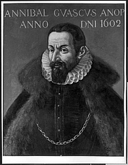 Author photo. Ritratto di Annibal Guasco, scuola lombarda, in the collection of the Pinacoteca Ambosiana, Milan, Italy. Found at <a href=&quot;http://www.lombardiabeniculturali.it/opere-arte/schede/L0040-00049/&quot; rel=&quot;nofollow&quot; target=&quot;_top&quot;>LombardiaBeniCulturali.it</a>