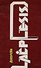 Lāčplēsis : rokopera : programma by…