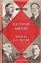Elections Abroad by David Butler