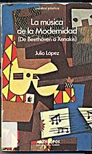 La música de la modernidad (de Beethoven a…