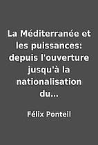 La Méditerranée et les…