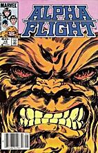 Alpha Flight (1983) #10 - Blood Battle by…
