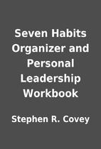 Seven Habits Organizer and Personal…