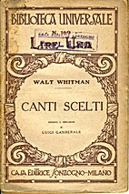 Canti scelti by Walt Whitman