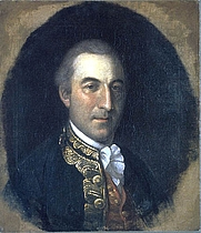 Author photo. François-Jean de Chastellux, painted ca. 1782 by Charles Willson Peale