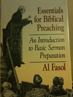 Essentials for Biblical Preaching: An…