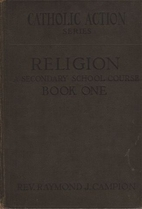 Religion: A Secondary School Course Book One…