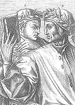 Author photo. Cavalcanti and Dante