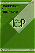Linguistics and Philosophy 20 (1997)