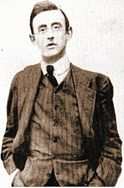 Author photo. Joseph Mary Plunkett, circa 1900. Wikimedia Commons.