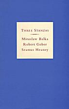 Three stanzas : Miroslaw Balka, Robert…
