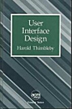 User Interface Design (ACM Press Frontier…