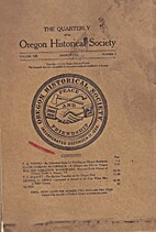 The Quarterly of the Oregon Historical…