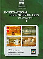International directory of arts 31st Edition…