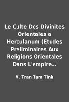 Le Culte Des Divinites Orientales a…