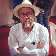 Author photo. Robert Crumb. Photo by Marcelo Braga.