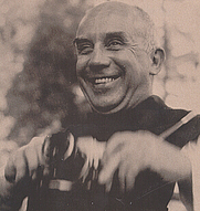 Author photo. Thomas Merton in Pictures