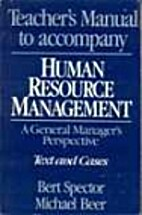 Human Resource MAnagement Text and Cases by…