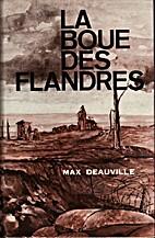 La boue des Flandres by Maurice Duwez