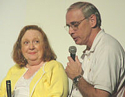 Author photo. Betty Lynn and Neal Brower The eBullet