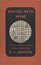 Water into Wine: A Study of Ritual Idiom in…