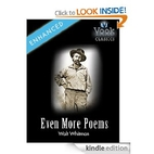 Even More Poems by Walt Whitman: Vook…
