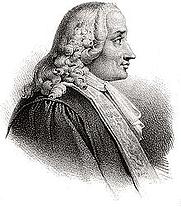 Author photo. Chretien-Guillaume de Lamoignon de Malesherbes (1721-1794)