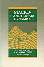 Macroevolutionary Dynamics: Species, Niches,…