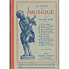 Le livre de musique by claude augé